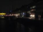 コペンハーゲン、ニューハウンの夜景