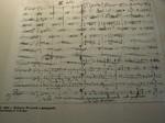 ドボ6、3楽章冒頭の直筆譜